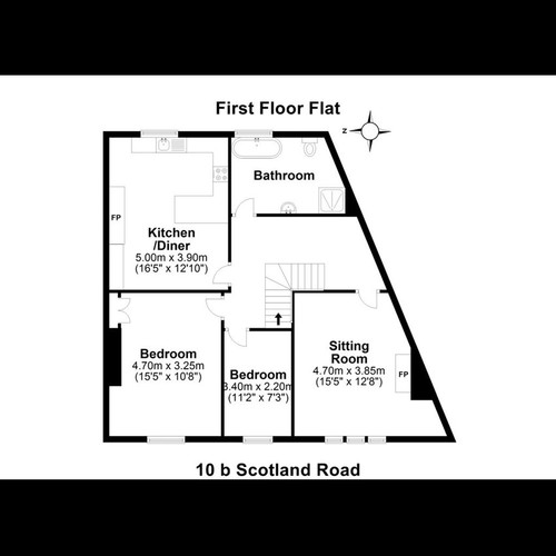 10b Scotland Rd - Floor Plan