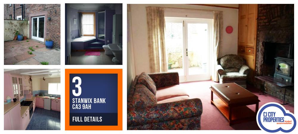 3 Stanwix Bank, CA3 9AH